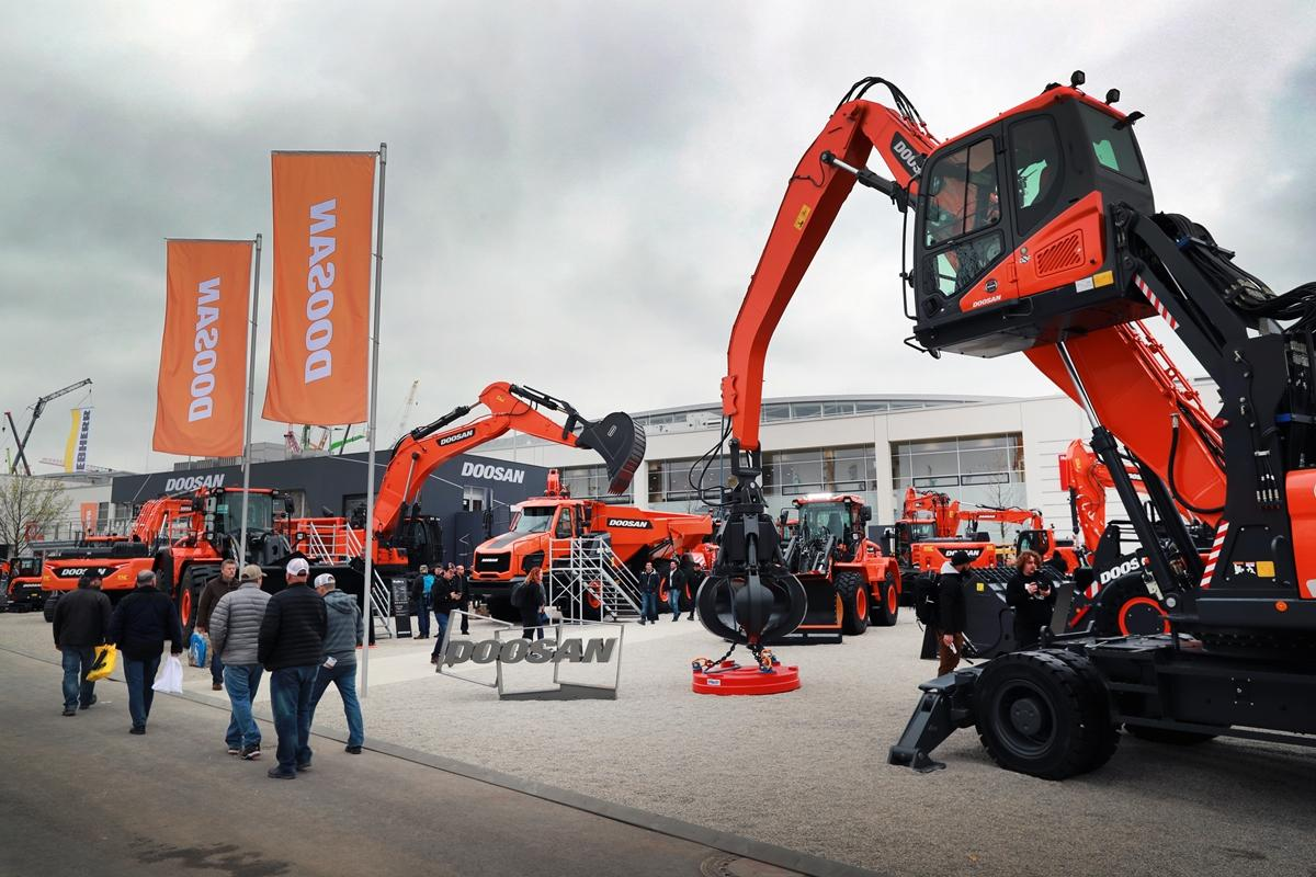Doosan Infracore Europe set the highest sales record with 548 construction vehicles in September