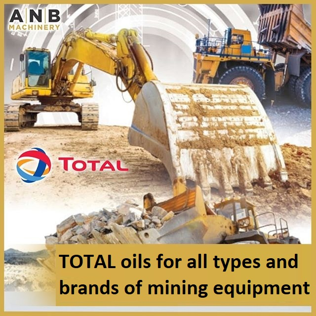 TOTAL oils for all types and brands of mining equipment