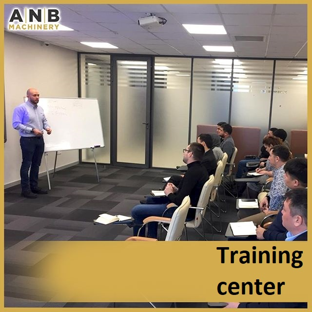 Regular trainings at ANB MACHINERY are a guarantee of uninterrupted production!