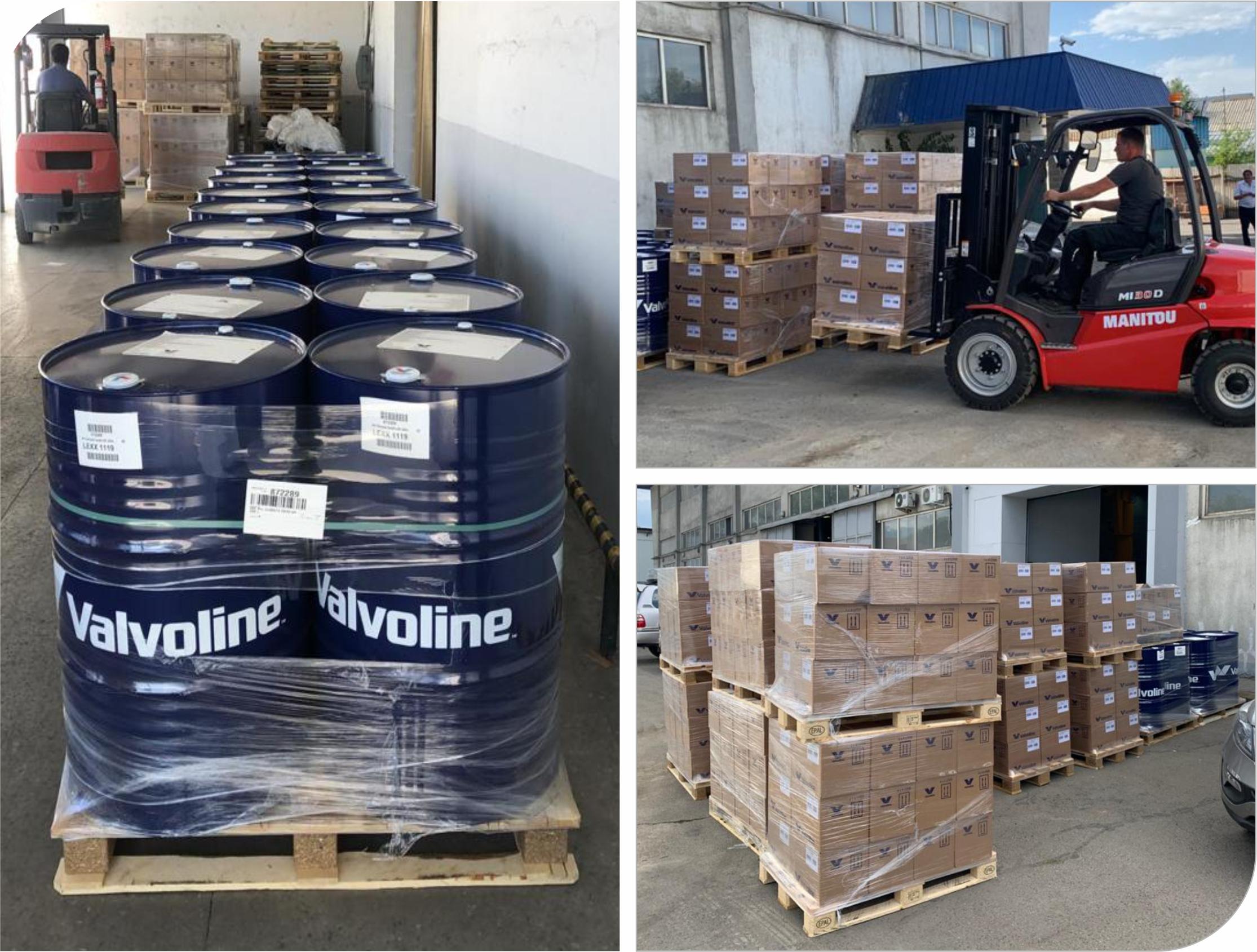New arrival of Valvoline motor oils
